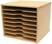 Beyond The Page MDF Scrapbooking Paper Storage Unit, 28cm x 34cm x 31cm