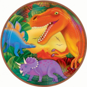 Amscan 22.8cm International Prehistoric Party Plates