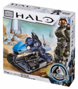Mega Bloks Halo UNSC Seige Bike Buildable Set