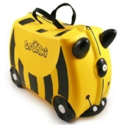 Trunki Bernard the Bee Ride-on Suitcase yellow