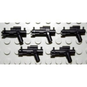 Little Arms Weapons - 5 Blaster e.g. for Lego Star Wars Stormtrooper Figures