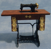 Dolls Houses - Accessories - Sewing Machine with Table - D030