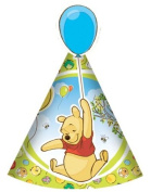 """Winnie the Pooh Piglet Die Cut Party Hats, pack of 6 [Toy]"""