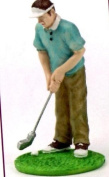 Clay Dough Golfer Cake Topper For that Golf Mad Person in your life