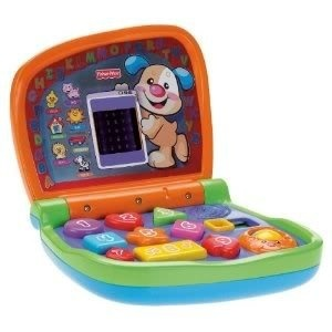 Fisher-Price Laugh & Learn Smart Screen Laptop Features 9 Buttons