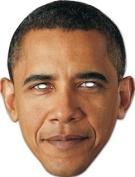 Barack Obama Celebrity Cardboard Mask - Single