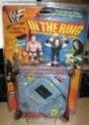 WWF In The Ring Handheld Game w/ 2 Stonecold & Undertaker Figures