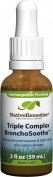Native Remedies Triple Complex Bronchosoothe, 2 Fluid Ounce