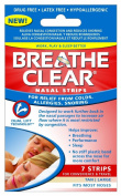 HealthRight Products Breathe Clear Nasal Strips Tan