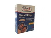 (30 Nasal Strips) Drug Free Medium Tan Original. Breathe Right