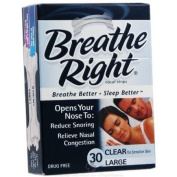 Breathe Right Nasal Strips, Large