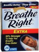 (130) Breathe Right Nasal Strips, Extra,