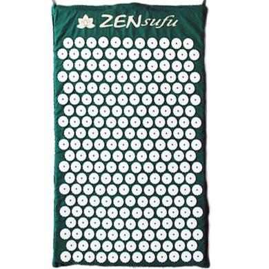 Zensufu Acupressure Mat for Back Massage Comfort with Carry Bag