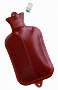 Mabis Dmi Healthcare Rubber Water Bottle, Red, One
