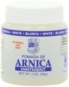Sanar Arnica White Ointment - Pomada de Arnica Blanco - Pain Relief - Bruises - Carpal Tunnel Syndrome Arthritis, Bursitis, and Tendonitis