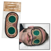 Steampunk Sleep Mask This Mask Makes It Look Like You're Wearing Retro-futuristic Goggles While You Take Your Afternoon Siesta.