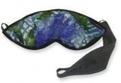 Dream Essentials Dream Essence Sleep Mask with Sleep Booster Herb Sachet, Shabby Chic Blue
