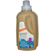 Seventh Generation Baby Natural 4X Concentrated Laundry Detergent, Fresh & Clear, 42 Loads, 950ml