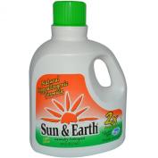 Sun & Earth 2X Liquid Laundry Detergent, Fresh Lavender, 52 Loads, 2960ml