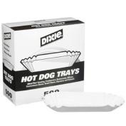 Dixie Hot Dog Trays 20cm ./500 ct.