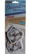 Floral 8 Decorative No Slip Safety Treads