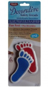 Fun Feet 8 Decorative No Slip Safety Treads