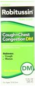Robitussin Peak Cold Cough Plus Chest Congestion DM, 350ml