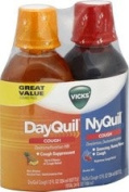 DayQuil/NyQuil Combo Pack Liquid for Cough 350ml EACH
