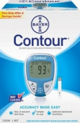 CONTOUR Blood Glucose Metre - Bayer Diabetes 7151