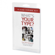 Eat Right 4 Your Type Home Blood Typing Kit with Eldoncard