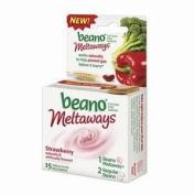 Beano Meltaways Strawberry - 1 Pack - 15 Each
