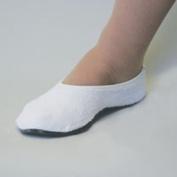 POSEY edoema NON-SKID SLIPPERS - SIZE SMALL - WHITE