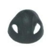 8mm MEDIUM OPEN DOMES for STARKEY Hearing Aids - 10 Pack