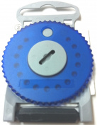 HF4 BLUE Wax Guard Wheel for Siemens Hearing Aids - BLUE SIDE LEFT
