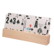 Wooden Tiered Card Holder