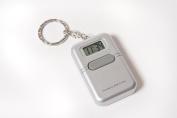 Talking Key Chain Clock with Alarm - English