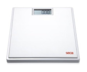 Seca 803 Clara Electronic Flat Bathroom Scale with Large LCD Numbers