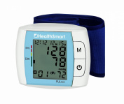 Healthsmart Standard Automatic Digital Wrist Blood Pressure Monitor, Blue