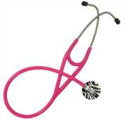 Adult Stethoscope with Zebra Print Design