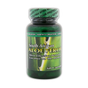 South African Aloe Ferox - Natural Laxative - 60 Capsules - by Earth's Creation