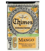 Chimes All Natural Mango Ginger Chews - 60ml Tin