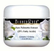 Saw Palmetto Extract (25% Fatty Acids) Cream - 60ml - ZIN