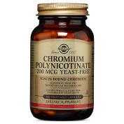 Solgar Chromium Polynicotinate 200 mcg Vegetable Capsules