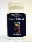 Allergy Research Group - Copper Sebacate 4 mg 75 caps [Health and Beauty]
