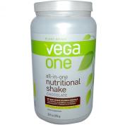 Vega One All-in-One Nutritional Shake, Chocolate, Large Tub,910ml