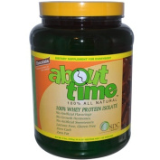 SDC Nutrition About Time 100% All Natural Whey Isolate Chocolate Flavour 2 lbs