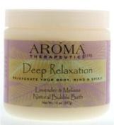 Aroma Therapeutics Deep Relaxation Natural Bubble Bath, Lavender & Melissa, 410ml