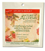 Nature's Alchemy Aromatherapy Herbal Mineral Baths Sports Relief -- 30ml