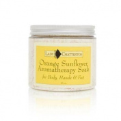 Lady Chatterton Orange Sunflower Aromatherapy Soak 470ml