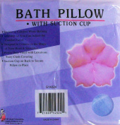 Bath Pillow with Suction Cup